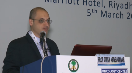 CRHM 2016, Riyadh: Genetic Analysis of AML in Realtime Clinical Practice (Omar Abdel Wahab)